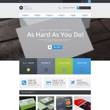 Business Responsive OpenCart Template