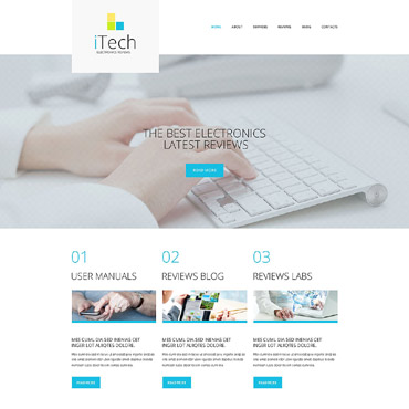 IT Responsive WordPress Theme