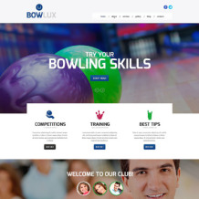 Bowling Responsive Website Template