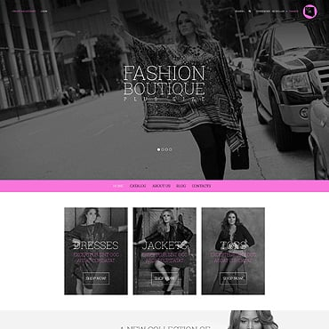 Fashion Store Responsive VirtueMart Template