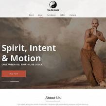 Martial Arts Moto CMS HTML Template
