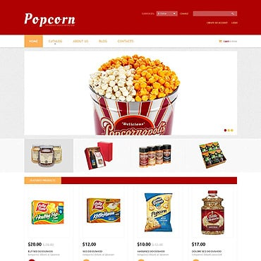 Food Store VirtueMart Template