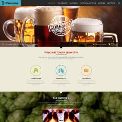 Brewery Responsive Website Template