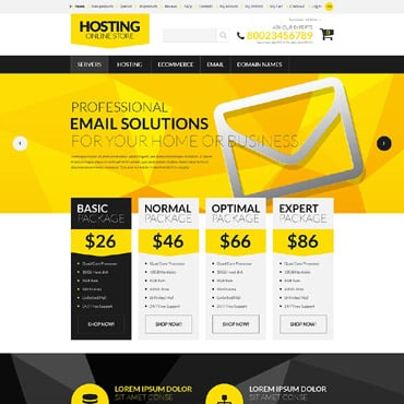 Hosting ZenCart Template
