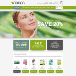 Drug Store OsCommerce Template
