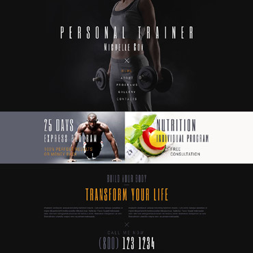 Sport Responsive Website Template