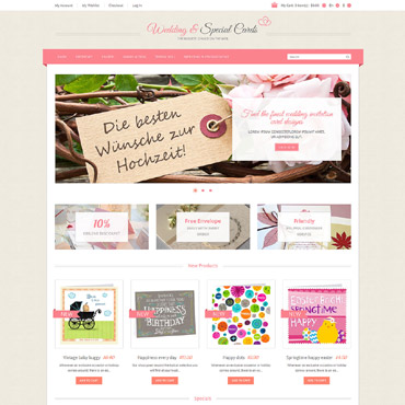 Wedding Shop Responsive Magento Theme