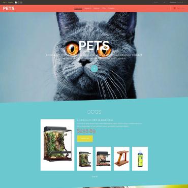 Pet Shop Responsive VirtueMart Template