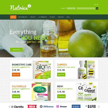 Drug Store ZenCart Template