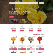Flower Shop Responsive PrestaShop Theme