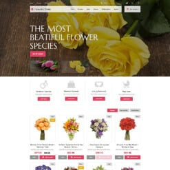 Flower Shop Responsive PrestaShop Theme