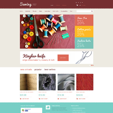 Crafts Responsive PrestaShop Theme