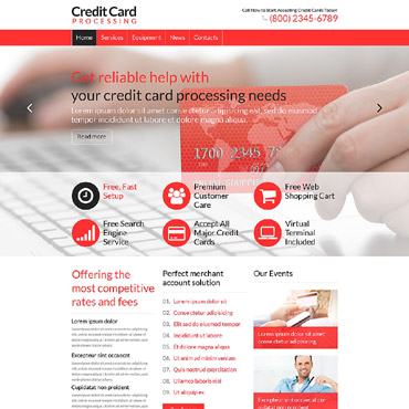 Accounting WordPress Theme #52467