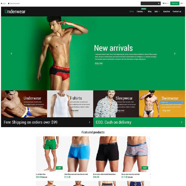 Men's Underwear Responsive Shopify Theme
