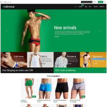 Men's Underwear Responsive Shopify Theme