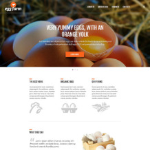 Poultry Farm Responsive Website Template