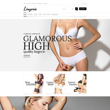 Lingerie Responsive OpenCart Template