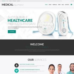 Medical Equipment Responsive WooCommerce Theme