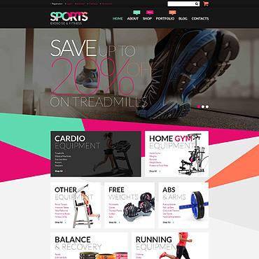 Fitness Responsive WooCommerce Theme