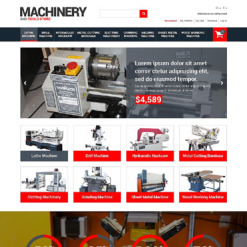Tools & Equipment Responsive Magento Theme