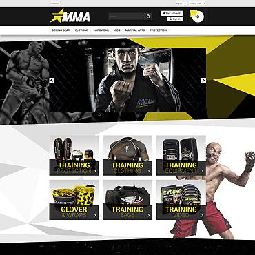 Sports Store Responsive PrestaShop Theme