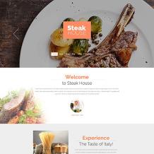 Steakhouse Responsive Drupal Template