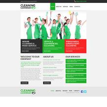 Cleaning Responsive Joomla Template