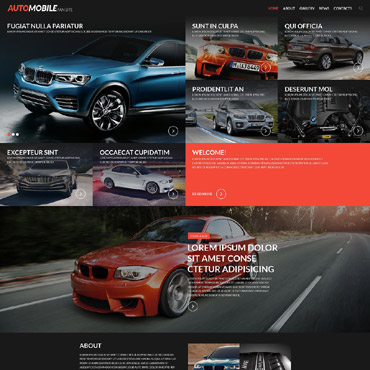 Car Club Responsive Website Template