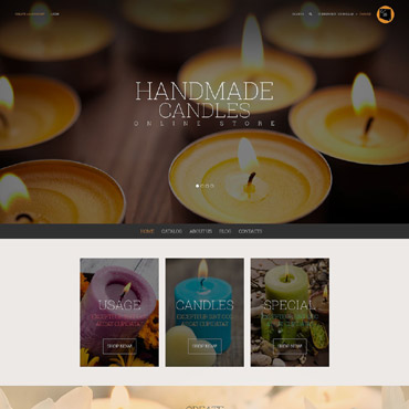 Crafts Responsive VirtueMart Template