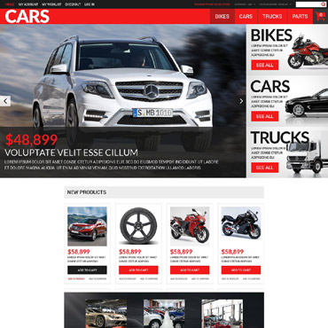 Car Dealer Responsive Magento Theme