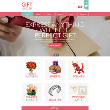 Gifts Store Responsive VirtueMart Template