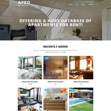 Real Estate Agency Responsive Joomla Template #52911