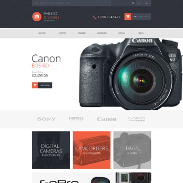 Video Store Responsive OpenCart Template