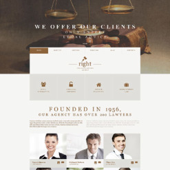 Law Firm Muse Template