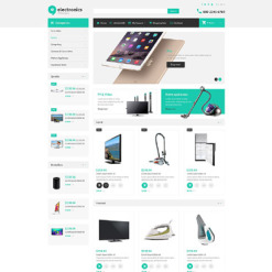 Electronics Store Responsive OpenCart