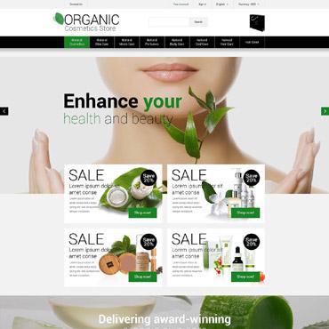 Natural Cosmetics PrestaShop Theme #53007