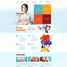 Psychologist Responsive Website Template