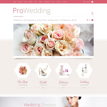 Wedding Shop Responsive WooCommerce Theme