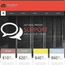 Hosting Moto CMS HTML Template