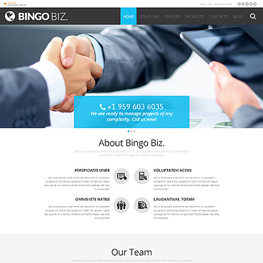 Business Responsive WordPress Theme