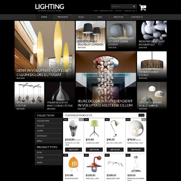 Lighting & Electricity Responsive Shopify Theme