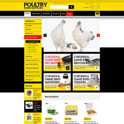 Poultry Farm Responsive Magento Theme