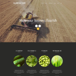 Agriculture Responsive Joomla Template
