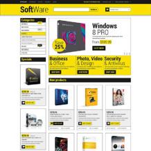 Software Store Responsive Magento Theme