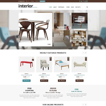 Interior & Furniture Responsive WooCommerce Theme