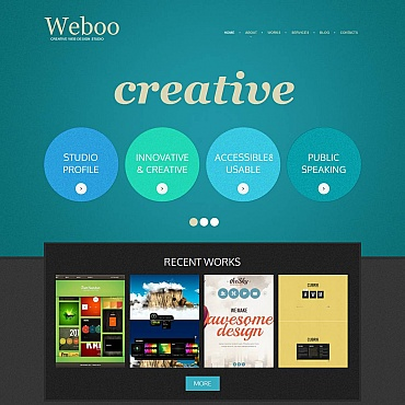 Web Design Moto CMS HTML Template