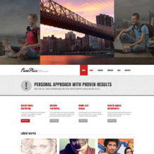 Advertising Agency Responsive Joomla Template