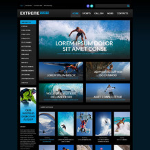 Extreme Sports Responsive WordPress Theme