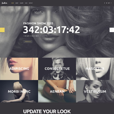 Fashion Icon WordPress Theme #53263