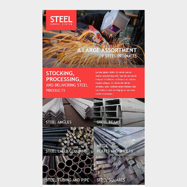 Steelworks Responsive Newsletter Template